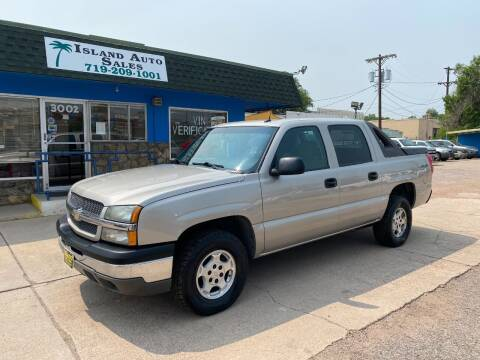 2005 Chevrolet Avalanche for sale at Island Auto Sales in Colorado Springs CO