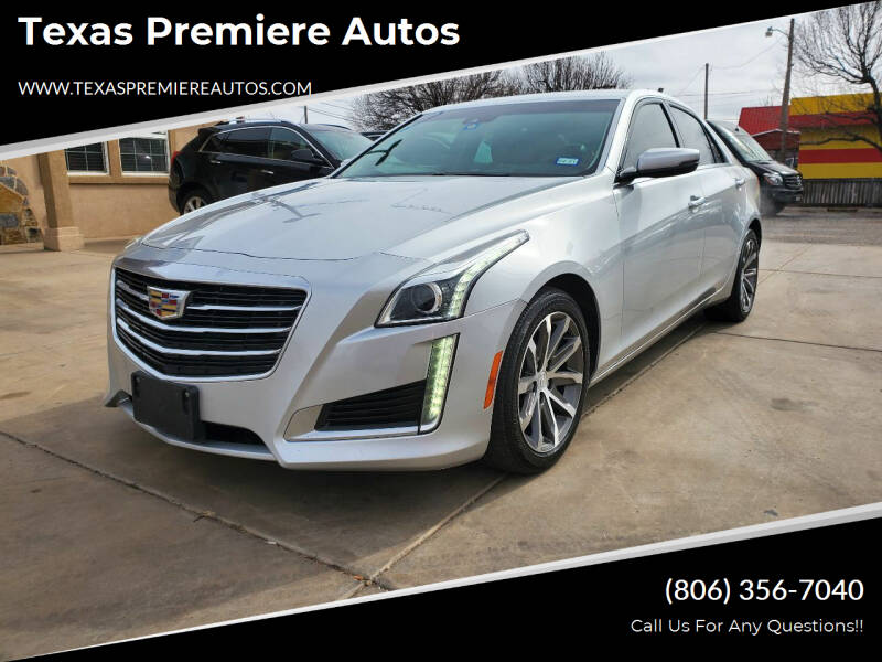 2016 Cadillac CTS for sale at Texas Premiere Autos in Amarillo TX