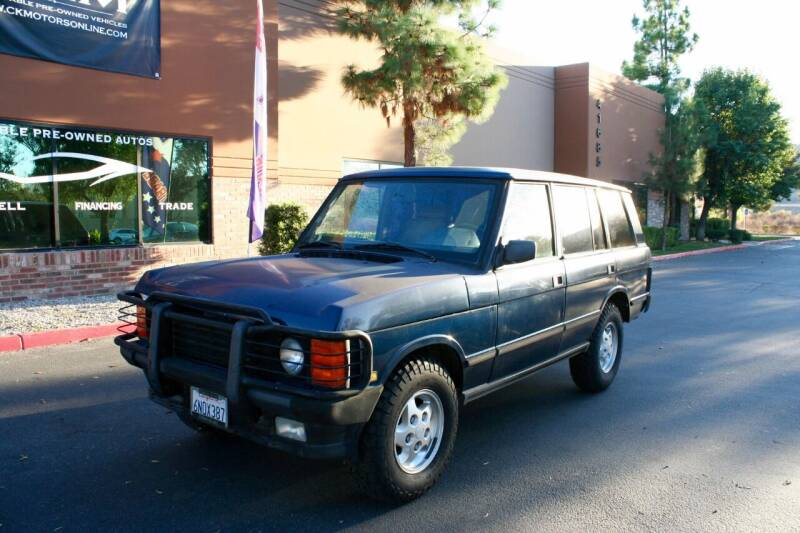 1995 Land Rover Range Rover for sale at CK Motors in Murrieta CA