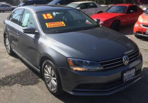 2015 Volkswagen Jetta for sale at Eden Motor Group in Los Angeles CA