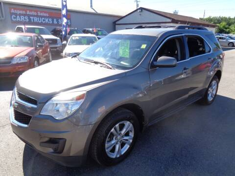 2011 Chevrolet Equinox for sale at Aspen Auto Sales in Wayne MI