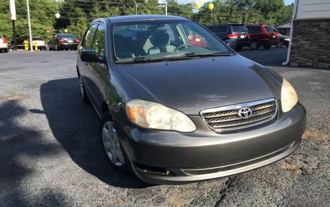 2007 Toyota Corolla for sale at No Full Coverage Auto Sales in Austell GA