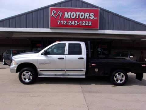 2005 Dodge Ram Pickup 3500 for sale at RT Motors Inc in Atlantic IA