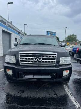 2008 Infiniti QX56 for sale at R&R Car Company in Mount Clemens MI