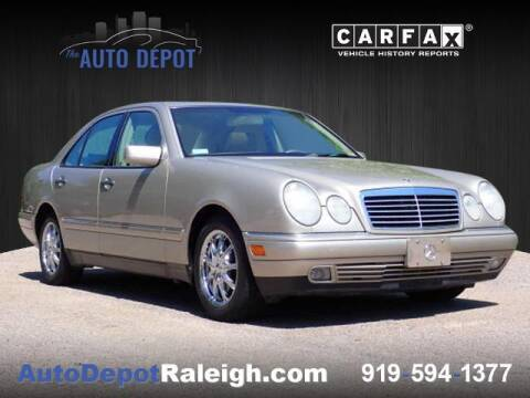 1999 Mercedes-Benz E-Class for sale at The Auto Depot in Raleigh NC