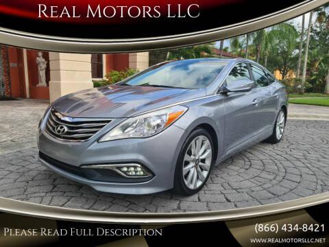 2015 Hyundai Azera for sale at Real Motors LLC in Clearwater FL