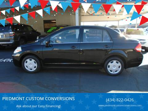 2009 Nissan Versa for sale at PIEDMONT CUSTOM CONVERSIONS USED CARS in Danville VA