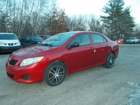 2010 Toyota Corolla for sale at Manchester Motorsports in Goffstown NH