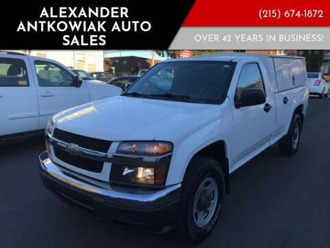 2012 Chevrolet Colorado for sale at Alexander Antkowiak Auto Sales in Hatboro PA