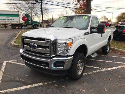 2016 Ford F-250 Super Duty for sale at Interstate Fleet Inc. Auto Sales in Colmar PA