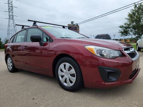 2012 Subaru Impreza for sale at CarNation Auto Group in Alliance OH