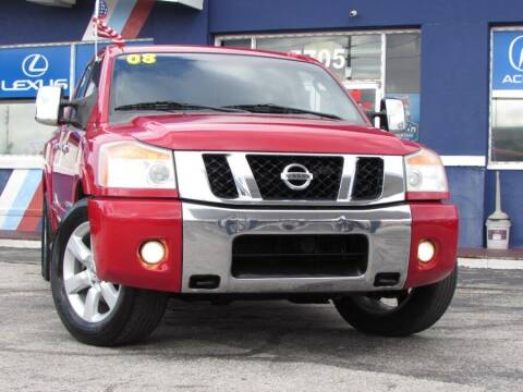 2008 Nissan Titan for sale at VIP AUTO ENTERPRISE INC. in Orlando FL