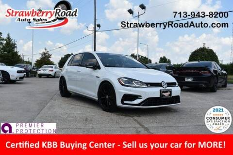 2019 Volkswagen Golf R for sale at Strawberry Road Auto Sales in Pasadena TX