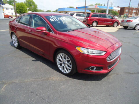 2014 Ford Fusion for sale at Tom Cater Auto Sales in Toledo OH