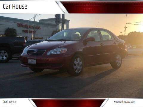 2006 Toyota Corolla for sale at Car House in San Mateo CA
