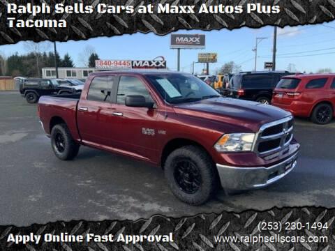2017 RAM Ram Pickup 1500 for sale at Ralph Sells Cars at Maxx Autos Plus Tacoma in Tacoma WA