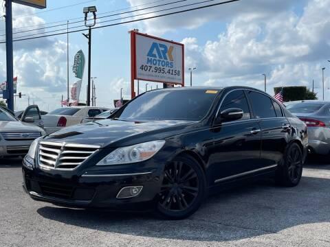 2011 Hyundai Genesis for sale at Ark Motors LLC in Orlando FL