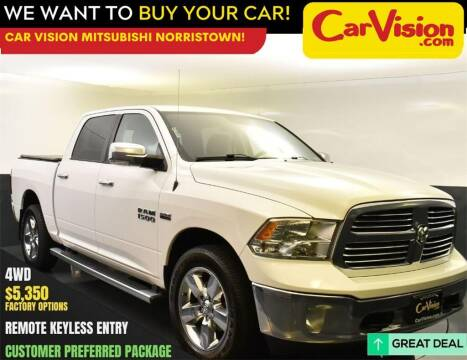 2016 RAM Ram Pickup 1500 for sale at Car Vision Mitsubishi Norristown in Norristown PA