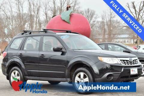 2013 Subaru Forester for sale at APPLE HONDA in Riverhead NY