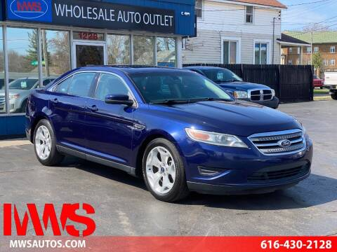 2011 Ford Taurus for sale at MWS Wholesale  Auto Outlet in Grand Rapids MI