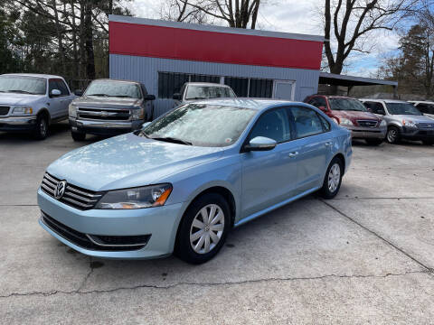 2012 Volkswagen Passat for sale at Baton Rouge Auto Sales in Baton Rouge LA