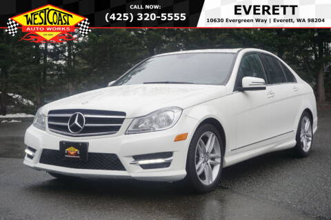2014 Mercedes-Benz C-Class for sale at West Coast Auto Works in Edmonds WA