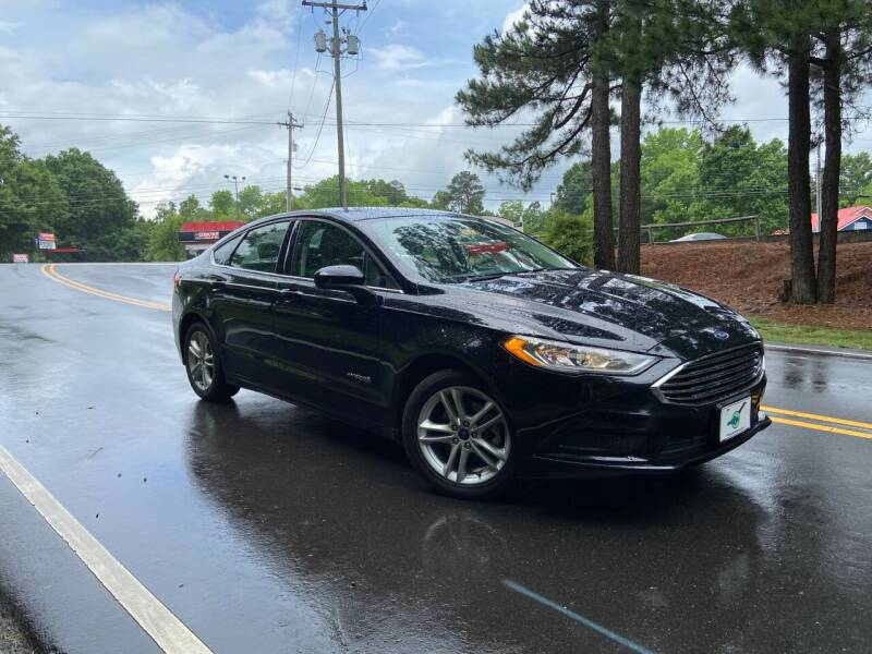 2018 Ford Fusion Hybrid for sale at THE AUTO FINDERS in Durham NC