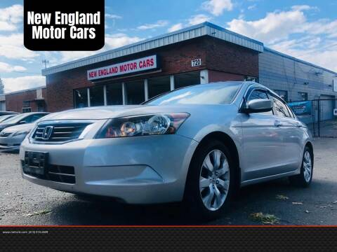 2008 Honda Accord for sale at New England Motor Cars in Springfield MA