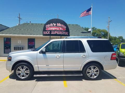 2014 Ford Expedition for sale at DICK'S MOTOR CO INC in Grand Island NE