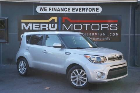 2017 Kia Soul for sale at Meru Motors in Hollywood FL
