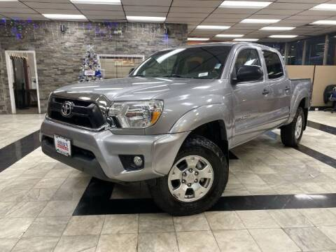 2014 Toyota Tacoma for sale at Sonias Auto Sales in Worcester MA