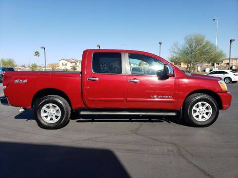2006 Nissan Titan for sale at Auto Hall in Chandler AZ