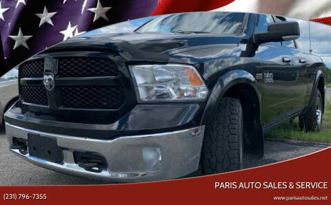 2014 RAM Ram Pickup 1500 for sale at Paris Auto Sales & Service in Big Rapids MI