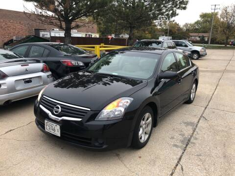 2008 Nissan Altima for sale at Cargo Vans of Chicago LLC in Mokena IL