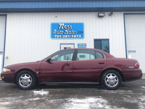 2002 Buick LeSabre for sale at NESS AUTO SALES in West Fargo ND