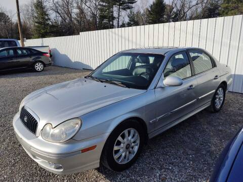 2005 Hyundai Sonata for sale at Hilltop Auto in Prescott MI