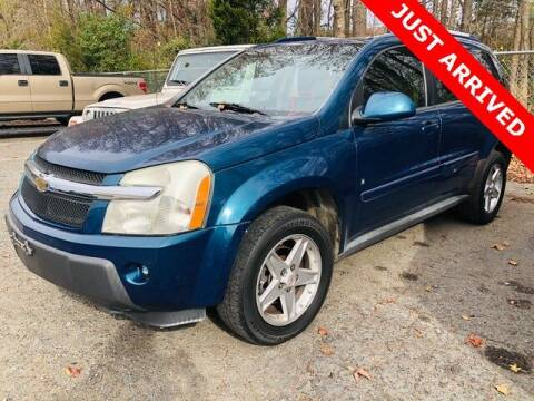 2006 Chevrolet Equinox for sale at Brandon Reeves Auto World in Monroe NC