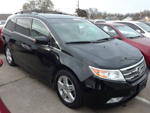 2012 Honda Odyssey for sale at Auto Haus Imports in Grand Prairie TX