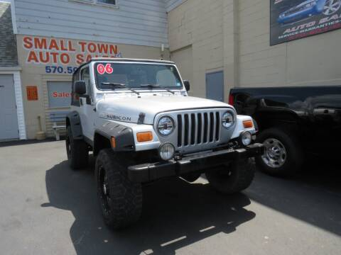 2006 Jeep Wrangler for sale at Small Town Auto Sales in Hazleton PA