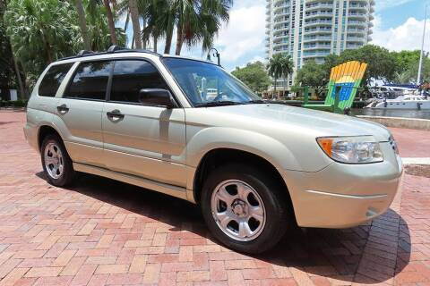 2007 Subaru Forester for sale at Choice Auto in Fort Lauderdale FL