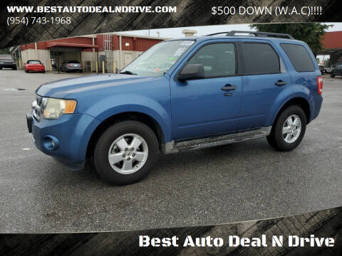 2010 Ford Escape for sale at Best Auto Deal N Drive in Hollywood FL