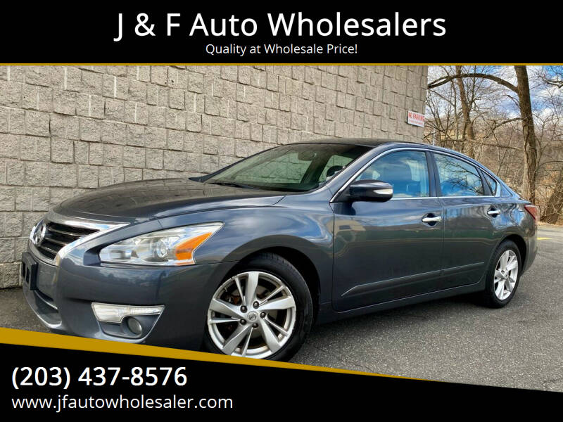 2013 Nissan Altima for sale at J & F Auto Wholesalers in Waterbury CT