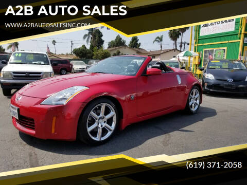 2004 Nissan 350Z for sale at A2B AUTO SALES in Chula Vista CA