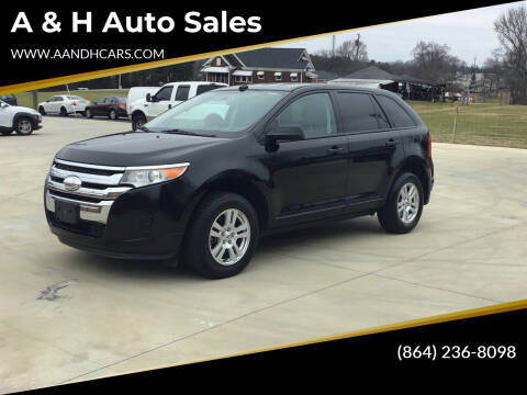 2011 Ford Edge for sale at A & H Auto Sales in Greenville SC