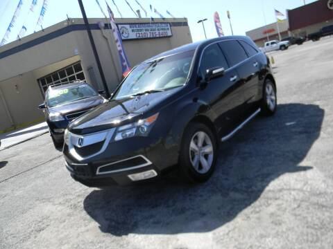 2010 Acura MDX for sale at Meridian Auto Sales in San Antonio TX
