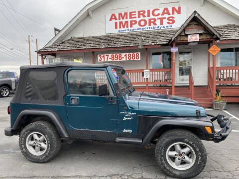 1997 Jeep Wrangler for sale at American Imports INC in Indianapolis IN