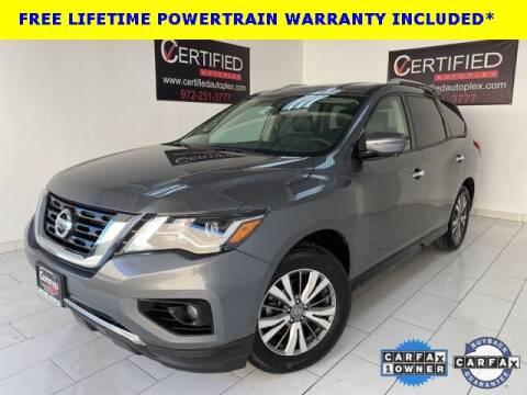 2019 Nissan Pathfinder for sale at CERTIFIED AUTOPLEX INC in Dallas TX