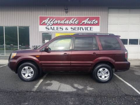 2008 Honda Pilot for sale at Affordable Auto Sales & Service in Berkeley Springs WV