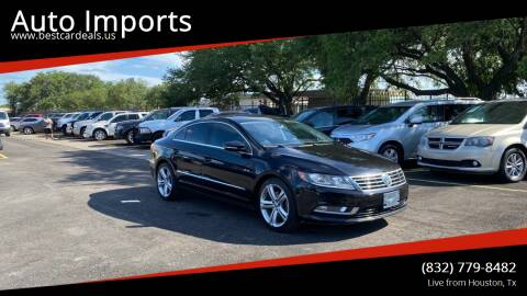 2013 Volkswagen CC for sale at Auto Imports in Houston TX