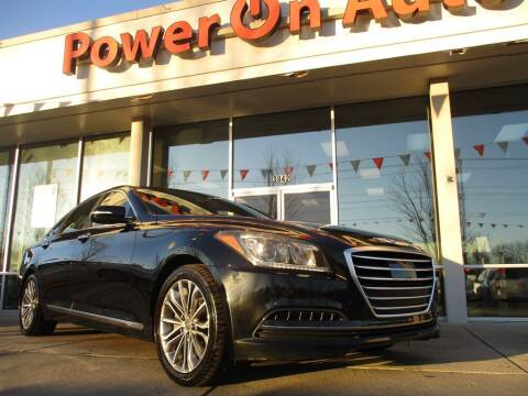 2015 Hyundai Genesis for sale at Power On Auto LLC in Monroe NC